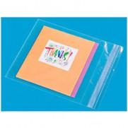 20 enveloppes tranparentes de 6.25 X 6.25 pouces