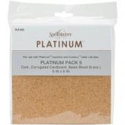 Bois Liège & Carton pour Platinum & steel rule die