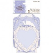 Papermania French Lavender Die-Cut Notelets