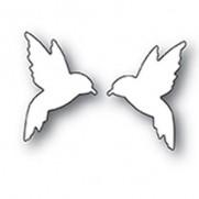 Poppystamps Dies Oiseaux Mouche