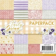 "Precious Marieke Paper Pack 6""X6"" Early Spring"