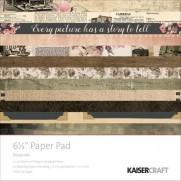 "Kaisercraft Pad 6.5""X6.5"" Keepsake"