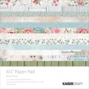 "Kaisercraft Pad 6.5""X6.5"" Rose Avenue"