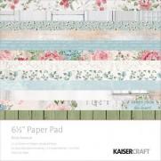 "Kaisercraft Pad 6.5""X6.5"" Rose Avenue"