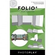 "PhotoPlay Folio 6.5""X6.5"" Blanc"