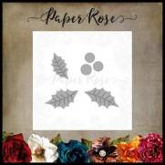 Paper Rose die Petites Feuilles de Houx