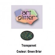 Art Glitter Ultrafin Green Briar
