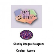 Art Glitter Chunky Holo. Aurora