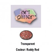 Art Glitter Ultrafin Ruddy Red
