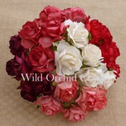 WOC Fleurs Wild Roses Rouges/Blanches