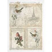 ITD Collection Papier de Riz Hiver à Paris