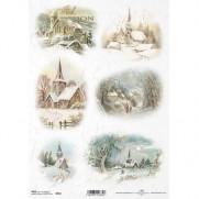 ITD Collection Papier de Riz Églises
