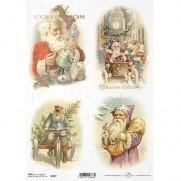 ITD Collection Papier de Riz Cadeaux de Noël