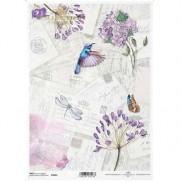 ITD Collection Papier de Riz Oiseau-Mouche
