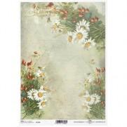 ITD Collection Papier de Riz Marguerites