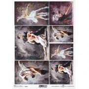 ITD Collection Papier de Riz Danseurs