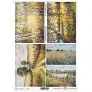 ITD Collection Papier de Riz Paysages
