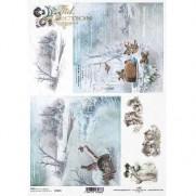 ITD Collection Papier de Riz Visions hivernales