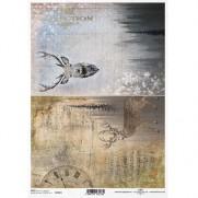 ITD Collection Papier de Riz Chevreuil