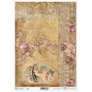 ITD Collection Papier de Riz Dames & Roses