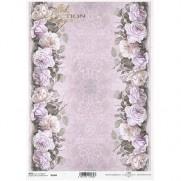 ITD Collection Papier de Riz Roses