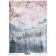ITD Collection Papier de Riz Montagnes