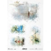ITD Collection Papier de Riz Océan de rêves