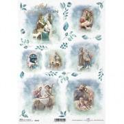 ITD Collection Papier de Riz Famille Sainte