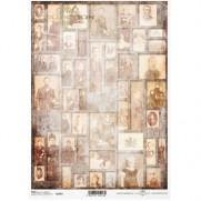 ITD Collection Papier de Riz Montage Photos