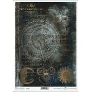 ITD Collection Papier de Riz Cosmogramme