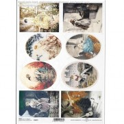 ITD Collection Papier de Riz Dames Vintages 2