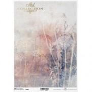 ITD Collection Papier de Riz Champ de Fleurs