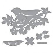 Die D-Lites Oiseaux sur une branche de Cerisier