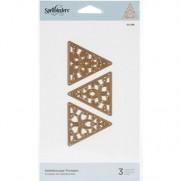 Spellbinders D-Lites Triangles Kaleidoscope