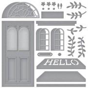 Spellbinders Nestabilities Porte décorative