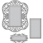 Spellbinders Nestabilities Labels 54 Decorative Element