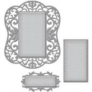 Spellbinders Nestabilities Labels 54 Decorative Element