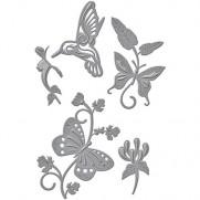 Spellbinders Shapeabilities Botanical Flutters