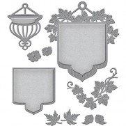 Spellbinders Shapeabilities Beautiful Banner Basket