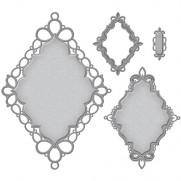 Spellbinders Nestabilities Labels 56 Decorative Accent