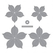 Spellbinders Shapeabilities Poinsettia