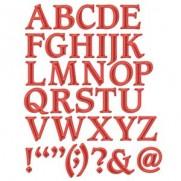 Shapeabilities Lettrage 1 majuscules