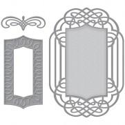 Spellbinders Nestabilities Ornamental Crest