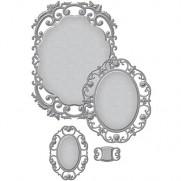 Spellbinders Nestabilities Label 55 Decorative Element