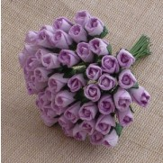 Wild Orchid Craft Fleurs Rosebuds lilas
