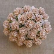 WOC Fleurs Roses ouvertes pêche