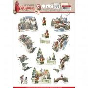 Amy Design 3D Images Village de Noël