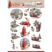 Amy Design 3D Images Train de Noël