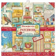 "Stamperia Pad 12"" x 12"" Patchwork"