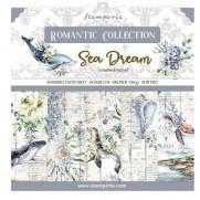"""Stamperia Ensemble 8"""" x 8"""" Rêve de la Mer"""